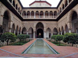 Patio de las Doncellas. Palacio Mudéjar